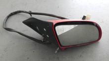 1986-1996; C4; Convertible; Power Side View Door Mirror; RH Passenger; RED