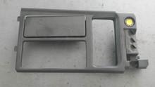 1990-1991; C4; Center Console Shift Trim Plate