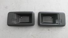 1978-1982; C3; Interior Door Release Handle Bezel; PAIR