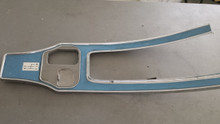 1964-1967; C2; Center Console Shift Trim Plate; 4 Speed