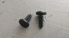 1984-1996; C4; Weatherstrip Fastener Plastic Push Pin; 2 pcs