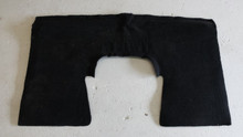 1997-2004; C5; Coupe; Rear Seat Back Riser Carpet; BLACK