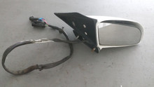 1986-1996; C4; Convertible; Power Side View Door Mirror; RH Passenger; WHITE