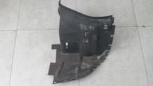 1988-1990 C4; Front Fender Front Inner Skirt Liner; LH Driver