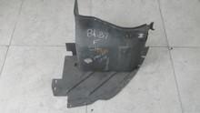 1984-1987; C4; Front Fender Front Inner Skirt Liner; LH Driver