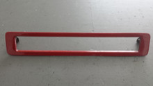 1986-1990; C4; Third Brake Tail Light Lamp Bezel; 3rd; RED