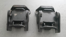 1963-1967; C2; Engine Motor Mount Bracket Bumper; PAIR