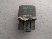 1985-1989; C4; Engine Cooling Fan Relay; 4 PIN