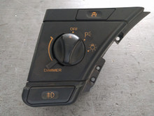 1992-1993; C4; Headlight Switch Control