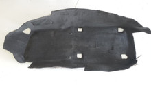 2005-2013; C6; Front Floor Carpet; LH Driver; EBONY