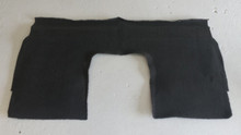 2005-2013; C6; Coupe; Seat Back Riser Carpet; EBONY