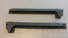 1969-1977; C3; Weatherstrip; Rear Side Glass; B Pillar; PAIR