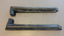 1978-1982; C3; Weatherstrip; Rear Side Glass; B Pillar; PAIR