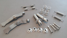 1965-1982; C2; C3; Emergency Brake Hardware Kit; Stainless Steel