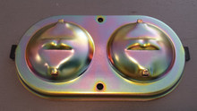 1968-1982; C3; Master Cylinder Cover; Cadmium Plated