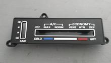 1977-1979; C3; AC Temperature Control Face Plate