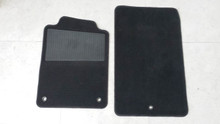 1997-2004; C5; Floor Mat Carpet; PAIR; BLACK