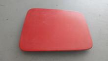 1984-1996; C4; Headlight Door Lid Cover; LH Driver; RED