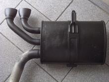 1997-2004; C5; Exhaust Pipe Muffler; LH Driver
