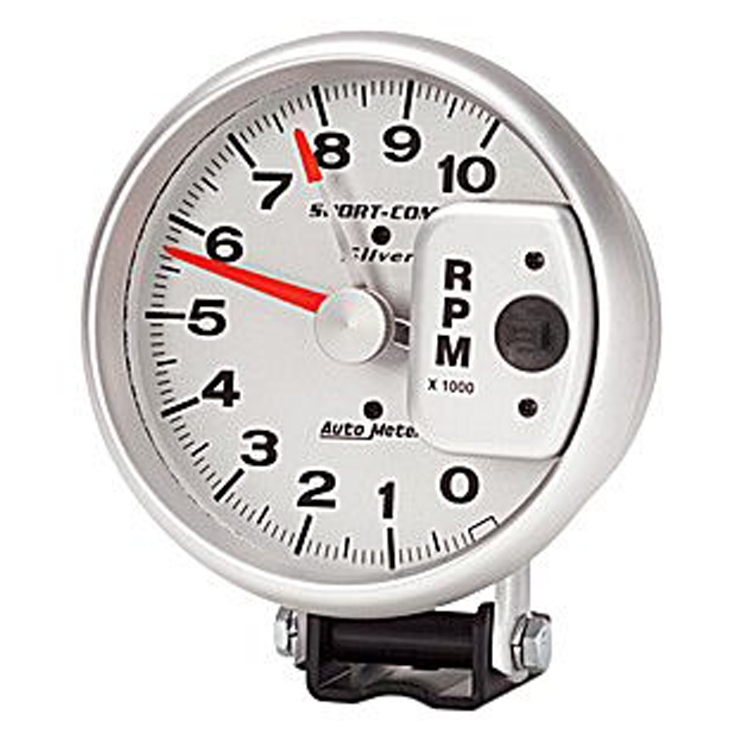 Autometer Sport Silver Gauges