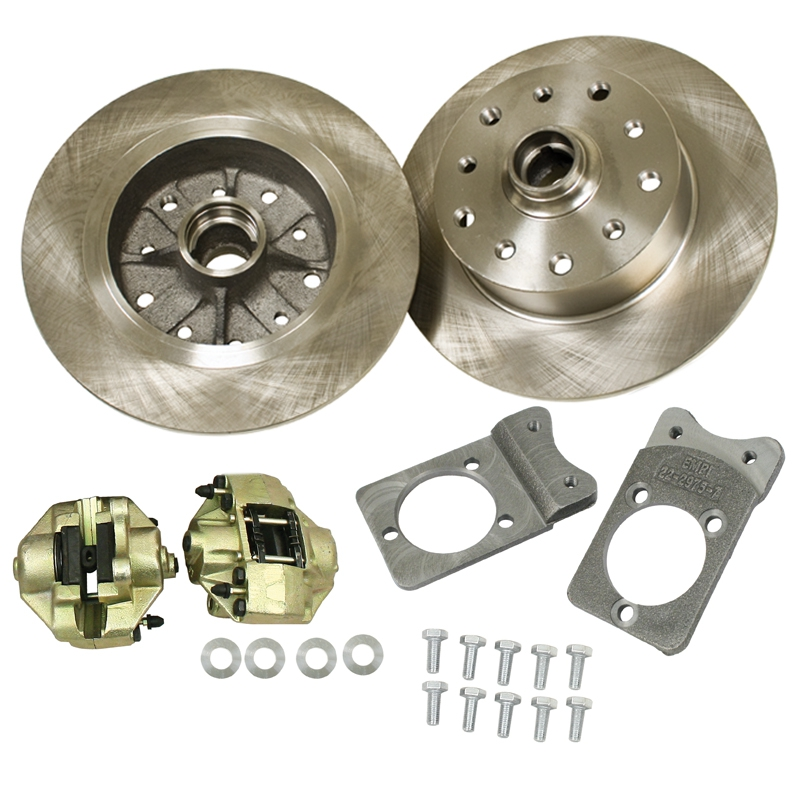 Front Disc Brake Kits 5 Lug Chevy & Porsche