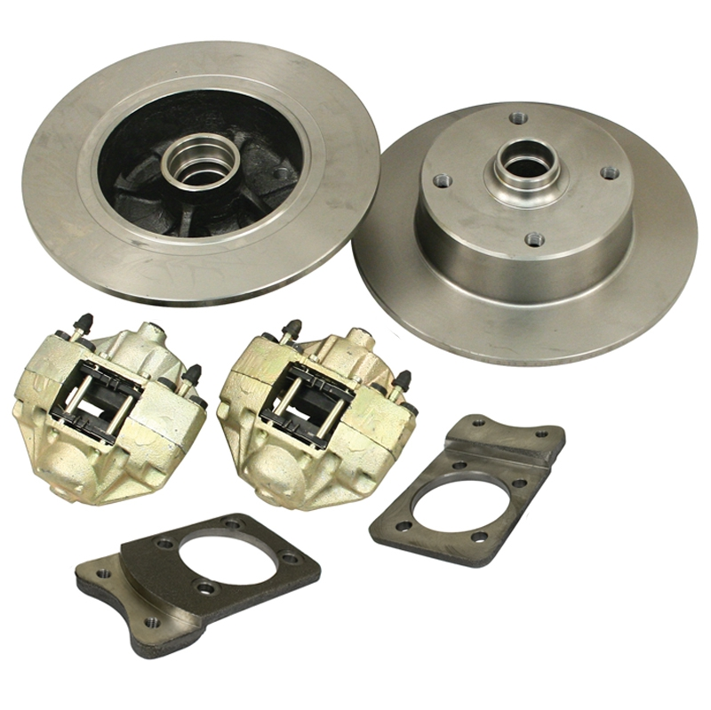 Front Disc Brake Kits 4 Lug VW