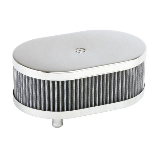 Dune Buggy Air Cleaner : Chrome oval air cleaner for classic vw cooled