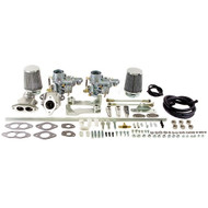 Empi Dual 34 EPC Carburetor Kit Vw Type 1 Air-cooled Dual Port Engines