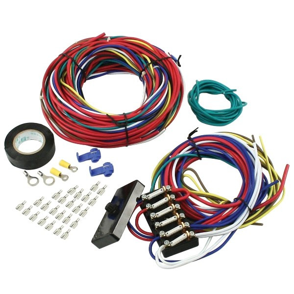 VW Dune Buggy Manx Sand Rail Baja Universal Wiring Harness With Fuse Box
