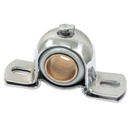 "Chrome Steering Shaft Bearing 3/4"" Id With Bronze Bushing"