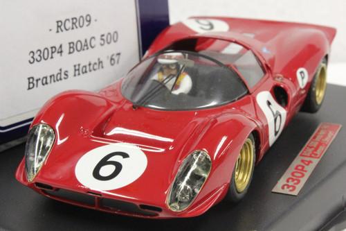 rcr09 racer ferrari 330 p4 boac 500 brands hatch 1967 c. amon/j