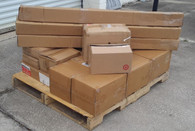 Wholesale MANIFESTED Pallet of OVERSTOCK Brand New Home Decor Window Items Curtains Rods Etc.
