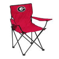 Wholesale Lot of 7 University of Georgia Bulldogs Portable Quad Camping Tailgate Chair Brand New