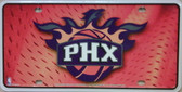 Phoenix Suns Metal Novelty License Plate