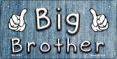 Big Brother Novelty Metal Bicycle License Plate BP-11547