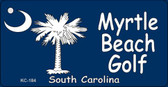 Myrtle Beach Golf Novelty Key Chain