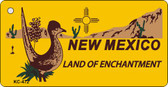 New Mexico Novelty Key Chain