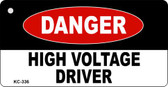 High Voltage Driver Novelty Key Chain
