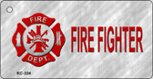 Fire Fighter Novelty Key Chain