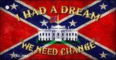 Confederate White House Novelty Key Chain