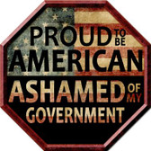 Proud To Be American Wholesale Metal Novelty Stop Sign