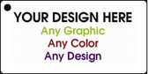 """Personalized Design Your Own Custom 3"""" x 1.5"""" Novelty Key Chain"""