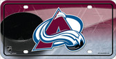 Colorado Avalanche Metal Novelty License Plate