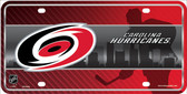 Carolina Hurricanes Metal Novelty License Plate