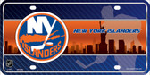 New York Islanders Metal Novelty License Plate
