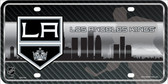 Los Angeles Kings Metal Novelty License Plate