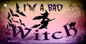 Im A Bad Witch Novelty Key Chain