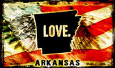 Love Arkansas Novelty Metal Magnet