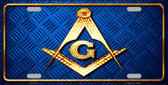 Freemasonry Novelty Metal License Plate