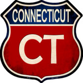 Connecticut Metal Novelty Highway Shield